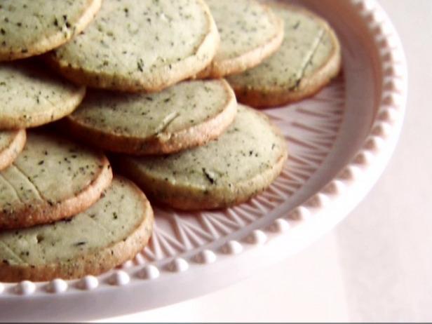 earl grey shortbread cookies source food network makes 2 dozen cookies